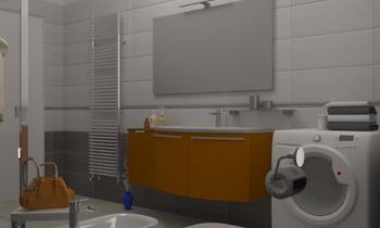 Bagno Loreo 3,84 x 1,95 Classic Bathroom Giulietta Tiengo