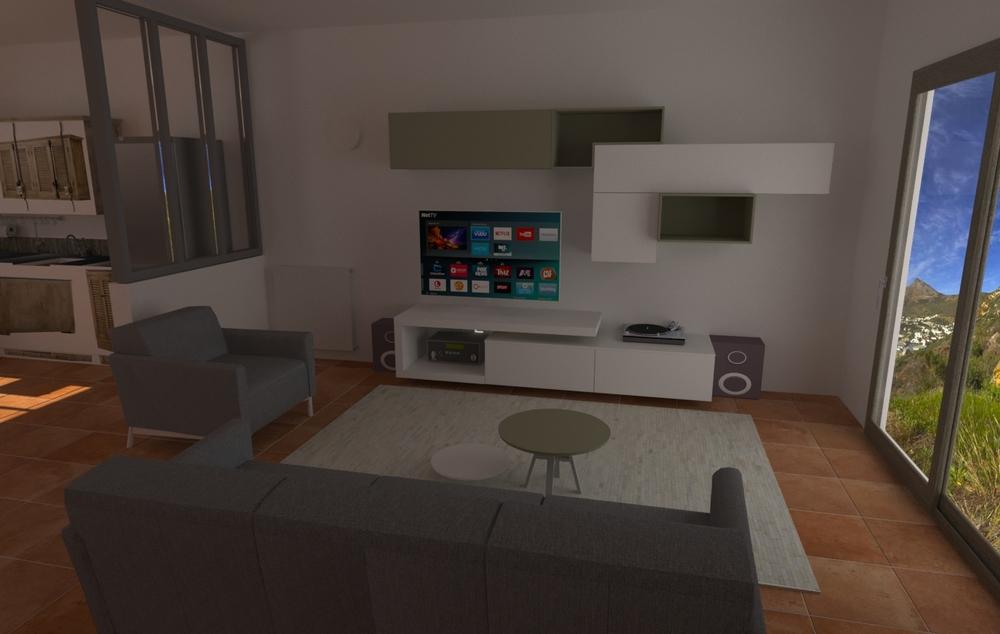 Amiot-Chauveau Classic Living room LIVING STORE  NANTES