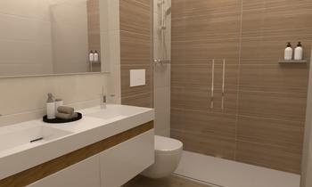 JAMPEL 4 Moderno Banheiro Carola Ballester