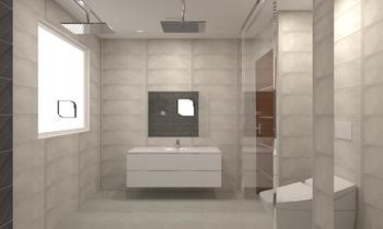baño ibero gris Classique Salle de bain BdB  MATERIALES DE CONSTRUCCION LEAL