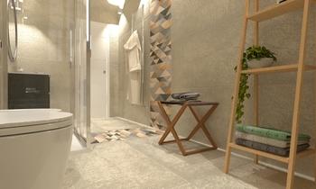Bagno primo piano Modern Bathroom Giovanni Latino