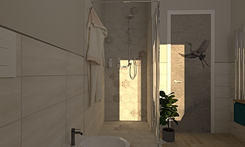 ristrutturazione Contemporary Bathroom Luana Cossu