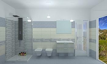 Motta Méditerranéen Salle de bain Fratelli Marrazzo  Ceramiche