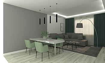 pranzo e soggiorno Classic Living room Nicoletta Silvestri
