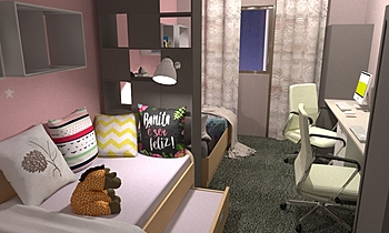 children's room Modern Bedroom Diyana Dimova