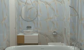Баня 1 - 01.04.2020 Classic Bathroom Adriyan Jordanov
