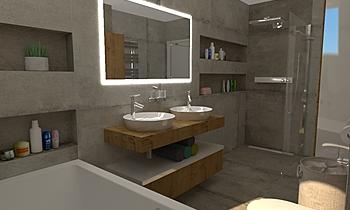 byt Klasický Koupelna Vladimír Fajth