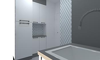 Lavandería Classic Bathroom Intuicion Diseño y Construcción sl