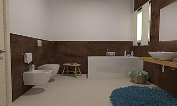 bagno grande Classic Bathroom GREGOLO SRL