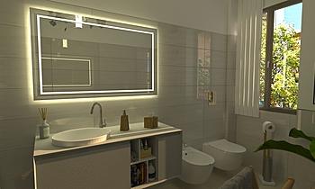 Bagno Contemporary Bathroom Luana Cossu