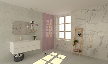 bagno rosa Classico Bagno Nicoletta Silvestri