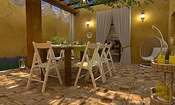 Terrasse- Sant'agostino o... Mediterrán Exterior Terrakotta  Csempecentrum