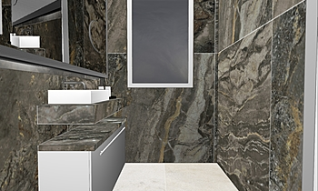 Loft Bath Room Classic Bathroom Ferreira's Architectural Surfaces