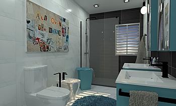 joel fernandes principal Classic Bathroom Patrícia Praia