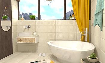 Azulejo Espanol - Cement ... Modern Bathroom Terrakotta  Csempecentrum