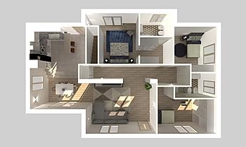 planimetria Classic Living room Nicoletta Silvestri