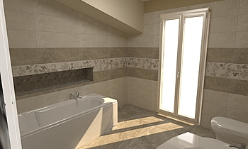 Bagno Vasca Contemporary Bathroom Raffaele Trifino