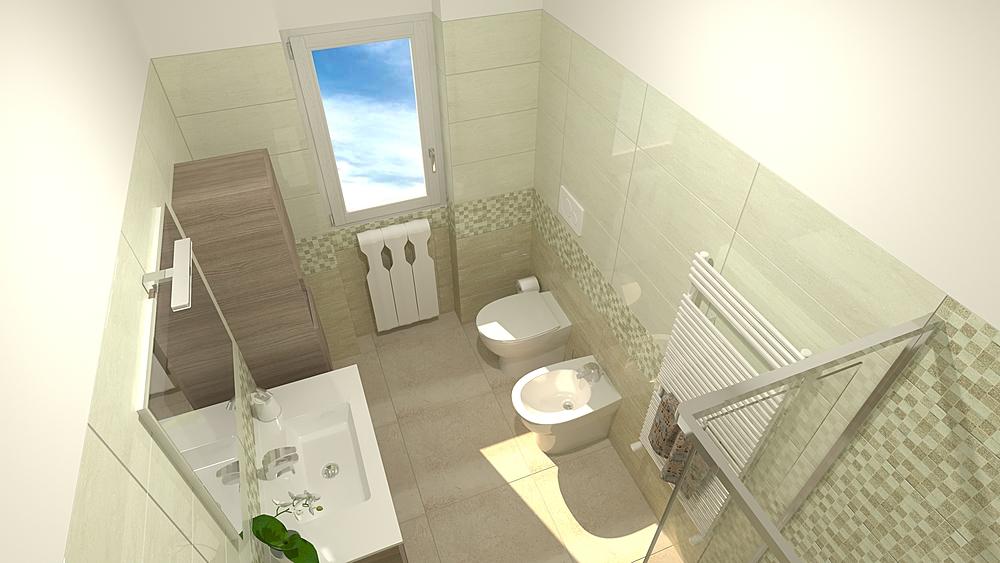 2 Modern Bathroom De Gregoris -  Dove Nasce Casa