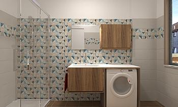 Bagno 1 Kortárs Fürdőszoba Giovanni Milone