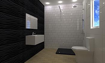 WC Suite 1 Kortárs Fürdőszoba Eunice Gregório