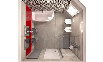 PROVA 3 Contemporary Bathroom ANGELO DI MAIO