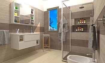 Bagno Gaspare  Contemporary Bathroom Pietro Curatolo