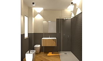 pecorella camera Classic Bathroom Davide D'Orso