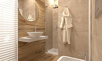 Bagno Piano Sottotetto Contemporary Bathroom  AmbienteBagno  Antichi