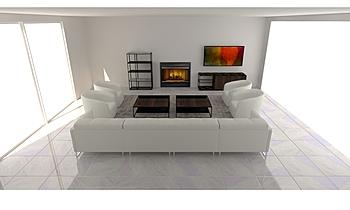 Mystic Condo Classic Living room Lisa Gansebom