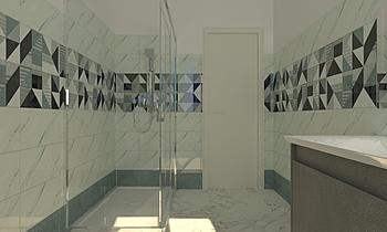 BAGNO PIANO TERRA Classic Bathroom Viviana Pusceddu