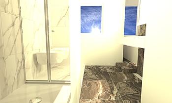 camera wc Klasszikus Fürdőszoba monic gabrie