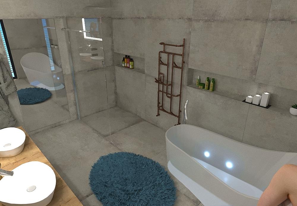 RD J Moderno Casa de banho  Vladimír Fajth