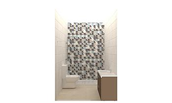baño 01 Klasický Koupelna Emma Fernandez