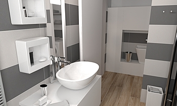Project 2 Classic Bathroom Alla Mikitina