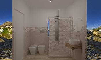 BAGNO PICCOLO Classic Bathroom Giucla Immobiliare