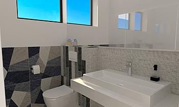 WC dole Clássico Casa de banho  Vladimír Fajth