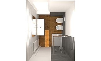 BAGNO GRANDE Classic Bathroom Francesca e Andrea Des Design
