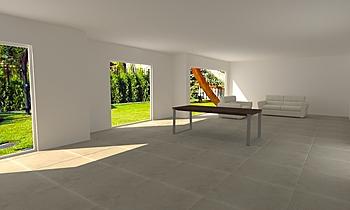 Wohnen Classic Living room Il Duce Mussolini