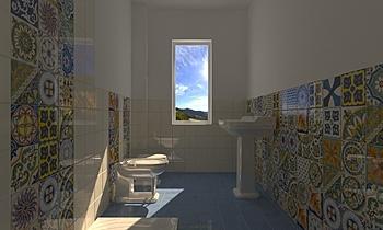 BAGNO SOVERATO Classic Bathroom CATERINA GRILLONE