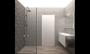SALLE DE DOUCHE REF GERON... Classic Bathroom Salle Battice