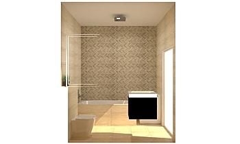 The Hamptons - APT 111 - ... Classic Bathroom Kirsty Farrugia