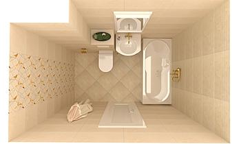 PLAIN STONE2 Klasický Koupelna Keraton Ob