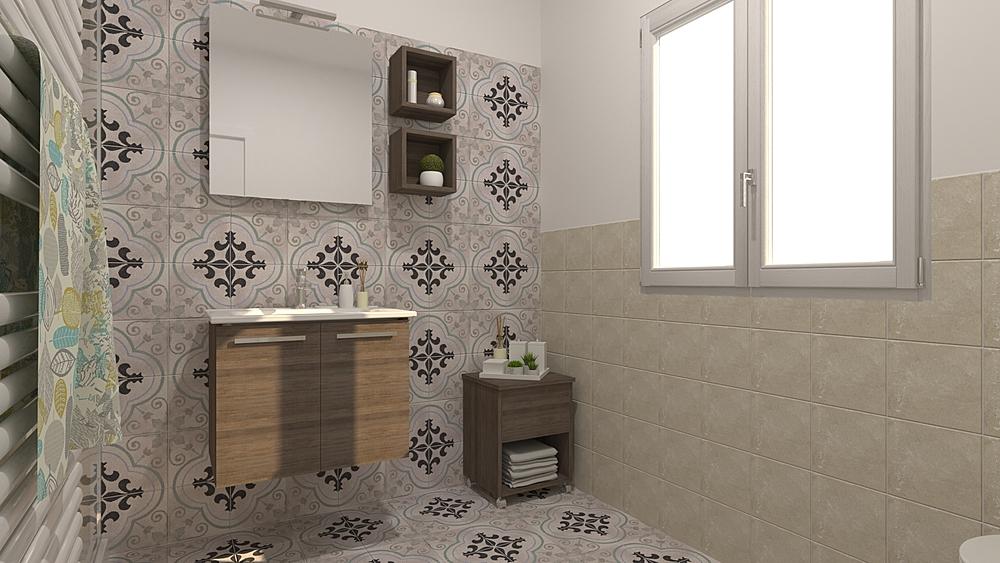 1 Classic Bathroom De Gregoris -  Dove Nasce Casa