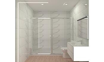 proyecto plano marazzi Classic Bathroom BdB  MATERIALES DE CONSTRUCCION LEAL