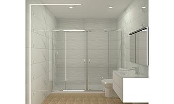 proyecto plano apen Classic Bathroom BdB  MATERIALES DE CONSTRUCCION LEAL
