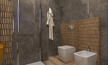 Bagno Camera Contemporary Bathroom  AmbienteBagno  Antichi