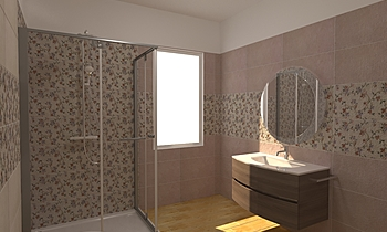 Pamesa Serie La Maison Contemporain Salle de bain Raffaele Trifino