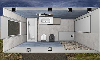 rizzi2 Klasszikus Fürdőszoba INTERNO C  ANTONELLA TOMEI