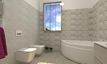 ANG Modern Fürdőszoba Fratelli Marrazzo  Ceramiche