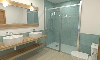 PR_B_11_Base_ROCATILES Modern Bathroom Alberto Firmat Várez
